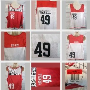 Nike Cornell Lacrosse Reversible Jersey Large